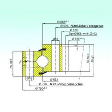 المحامل ZB1.25.0663.201-1SPPN ISB