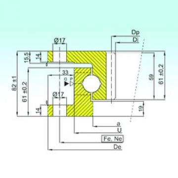المحامل ZK.22.0800.100-1SPPN ISB