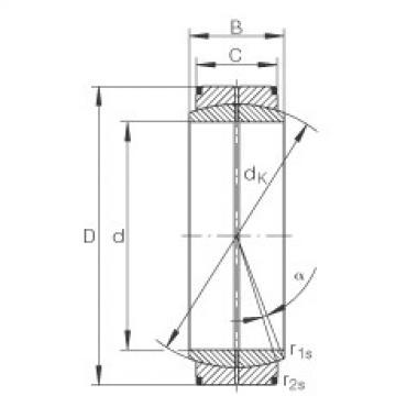 FAG Radial spherical plain bearings - GE420-DO