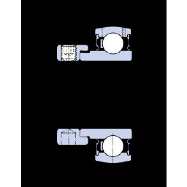 المحامل E2.YET 208 SKF #1 image